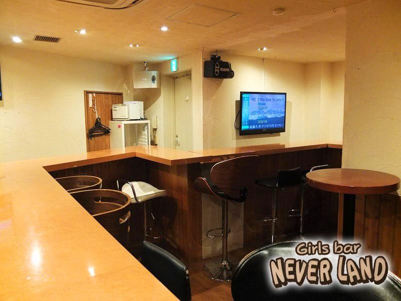 Girl's Bar NEVER LAND