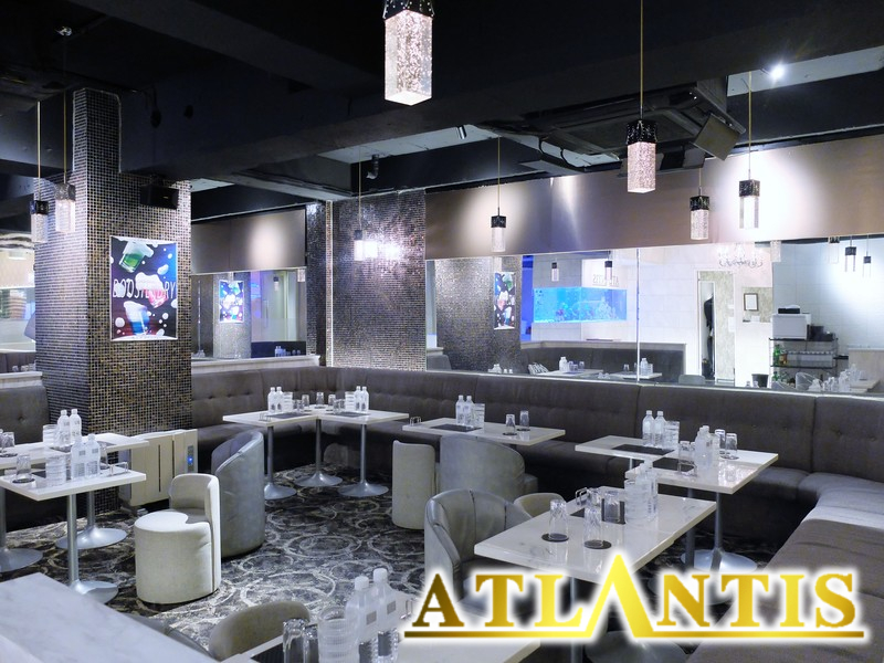 CLUB ATLANTISロゴ